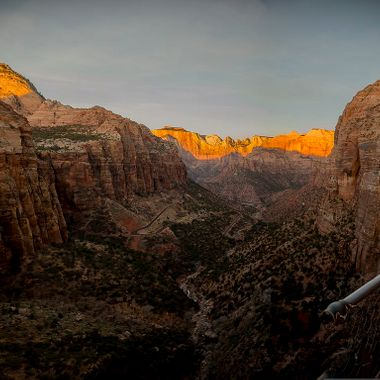 Sunrise at Zion