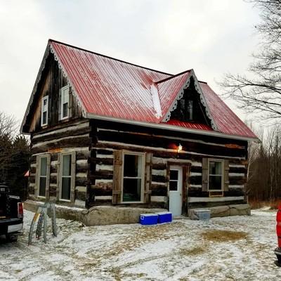 Ruby's Cabin.