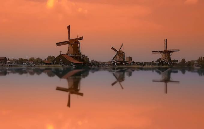 amsterdam by christianheitz - Windmills Photo Contest