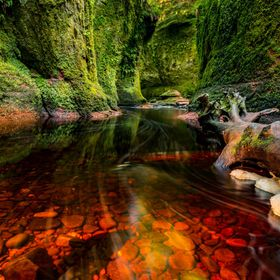 Just a thirty minute drive from Glasgow. According to local lore, the gorge was a secret meeting place for the ancient Druids. Despite its pictur...