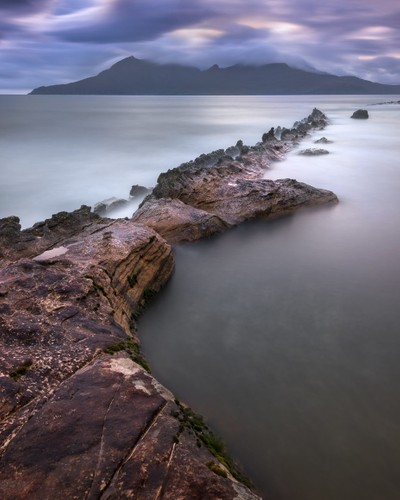 Rocky Beach in the Evening, Isle of Eigg