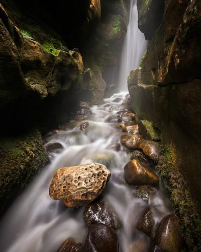 Small Waterfall, Isle of Eigg