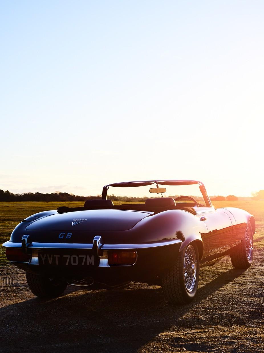 E Type Jaguar 2 by LynkPhotography - Orange Tones Photo Contest