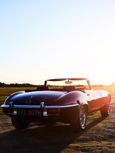 E Type Jaguar 2