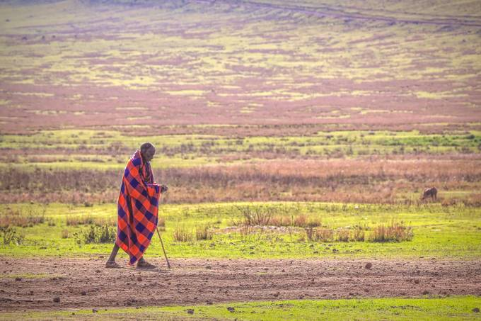 Maasai Man by fotogurl350 - Cultures of the World Photo Contest