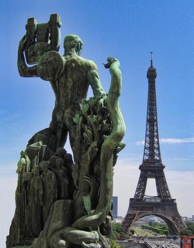Eiffel Tower - Unusual Role