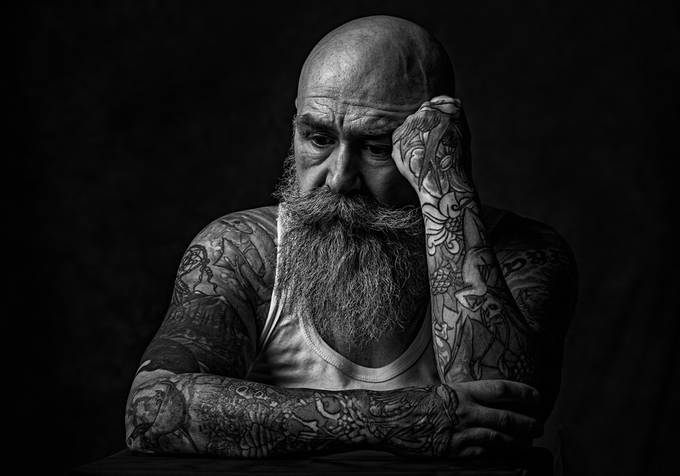 Contemplation by jonpearson - Male Portraits Photo Contest