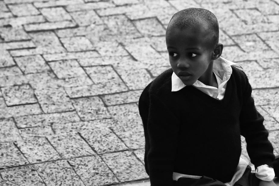 Township boy, Cape Town, South Africa