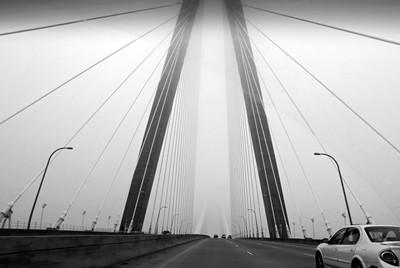 Arthur Ravenel Jr. Bridge from car