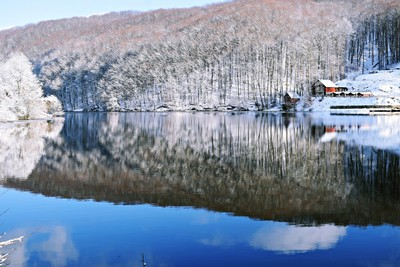winter mirror