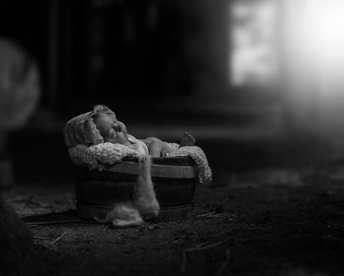 Irma by ewacwikla - Babies In Black And White Photo Contest