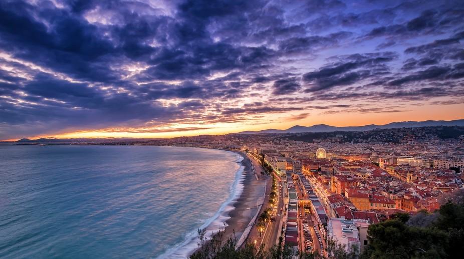 Nice - Sunset
