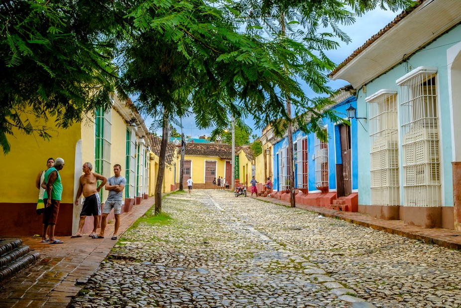 Santiago Cuba is famous for his scenic streets an houses. and so it was, when we where there!