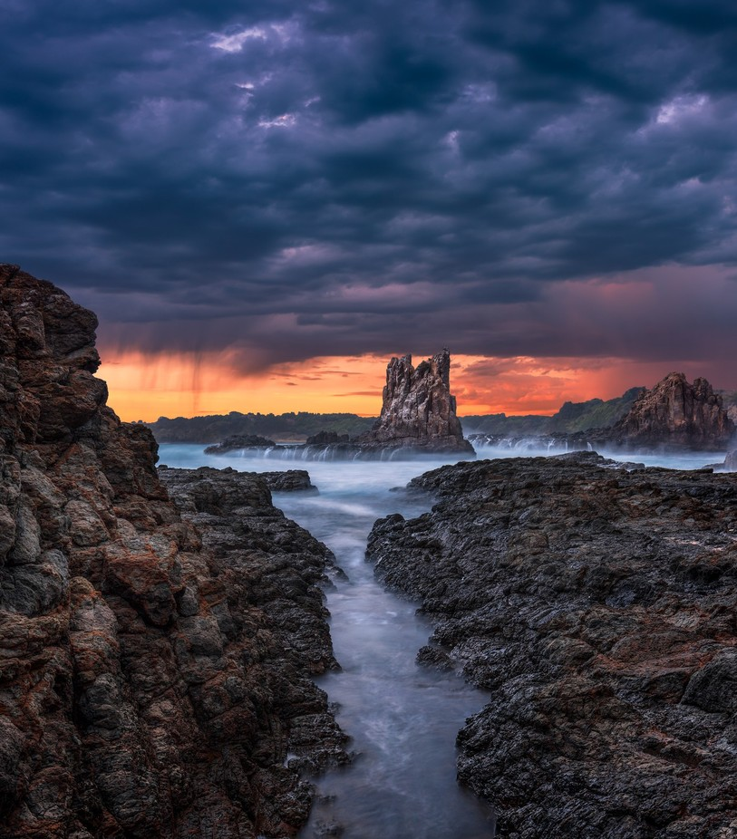 Cathedral Rock Kiama by TrevJel - Creative Landscapes Photo Contest