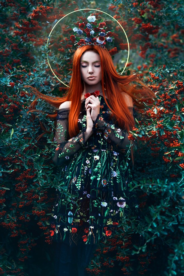 Autumn 2 by ElaImage - Red Hair Photo Contest
