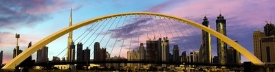 Downtown Dubai panorama