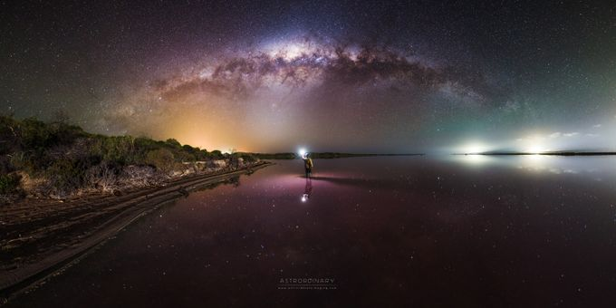 Pink Waters by ASTRORDINARY - The Milky Way Photo Contest