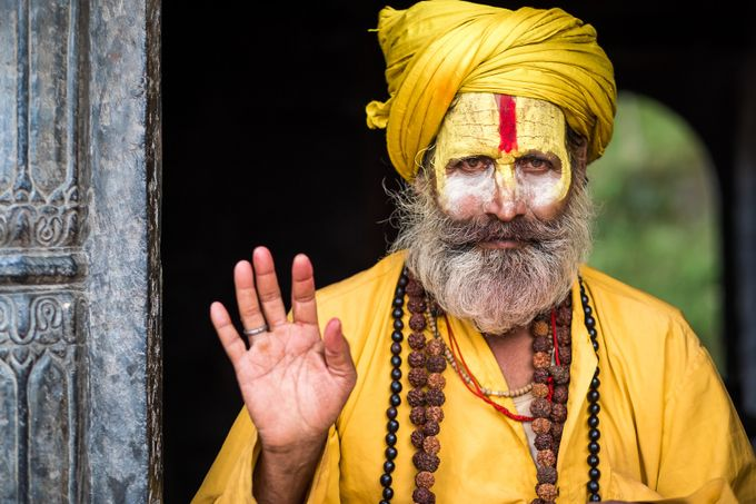 sadhu by 2fly2sky - Cultures of the World Photo Contest