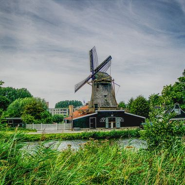 I took this photo when we were in Netherlands, in the year 2009. We went on a bicycle trip one day around Amsterdam and this was one of the photos I took that day.