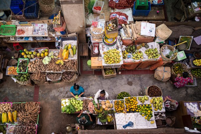 The market, Denpasar, Bali by Patosan - Food Markets Photo Contest