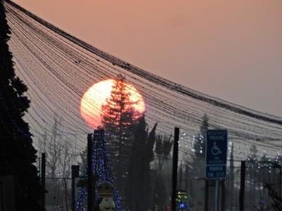 Big Christmas Sunset