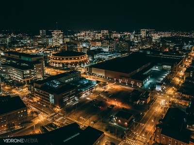 Richmond, Virginia At Night