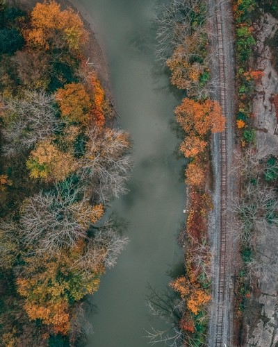 Autumn Along The Cuyahoga River