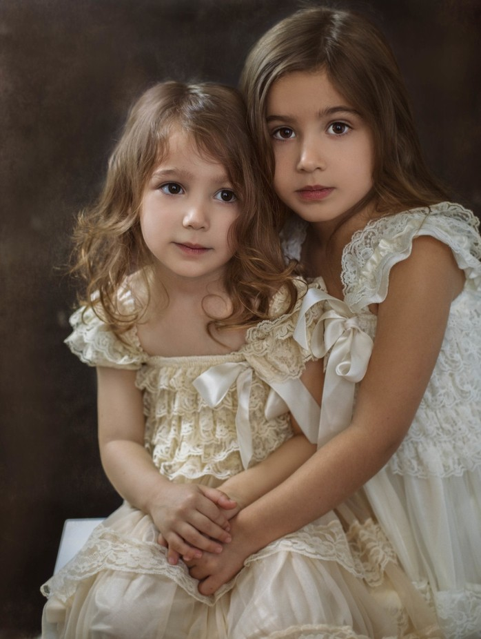 Sisters by MarniBalovich - Family In The Holidays Photo Contest
