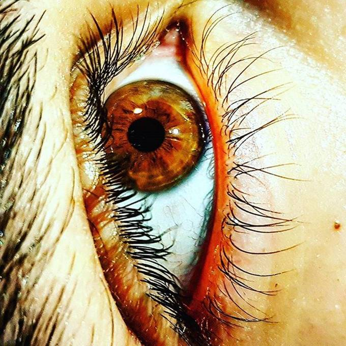 There is somthing in our eyes