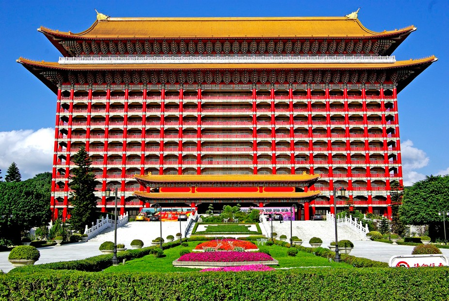 Grand Hotel... one of best in Asia.