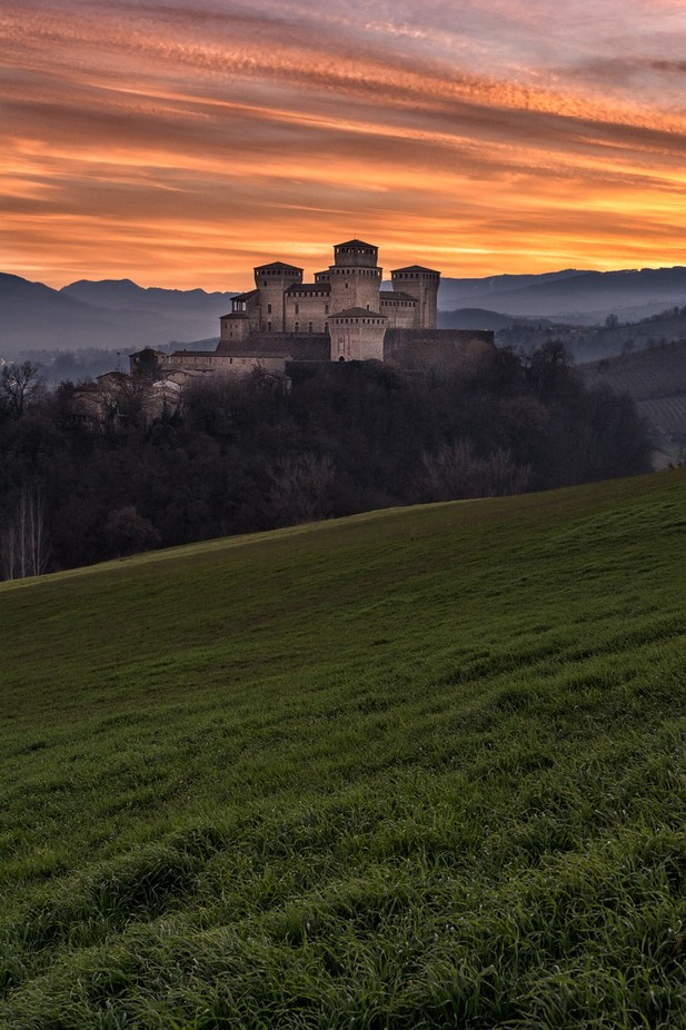Torrechiara sunset by AntonioPedroniPhoto - Covers Photo Contest Vol 44