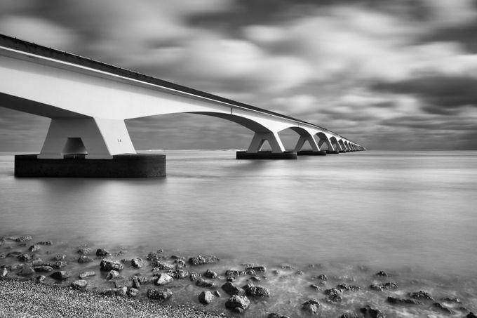 Zeeland Bridge  by hfuchs - Long Exposure Experiments Photo Contest