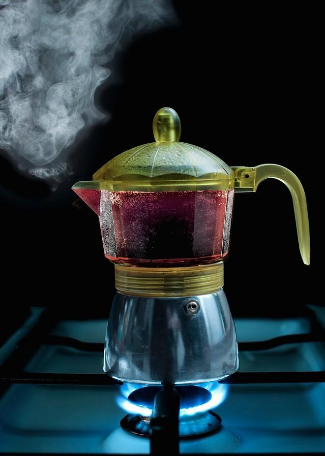 Italian Espresso in Progress by Eduardbetz - Monthly Pro Vol 38 Photo Contest