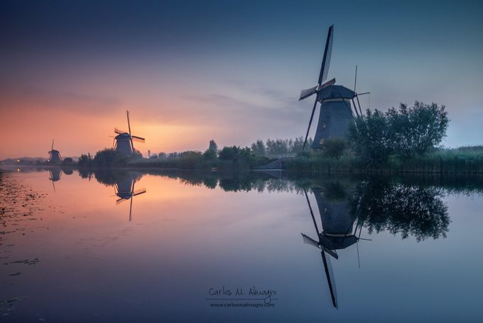 Kinderdijk by Carlosmacr - Canals Photo Contest