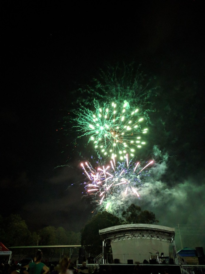 Taken at a Christmas night in Queensland