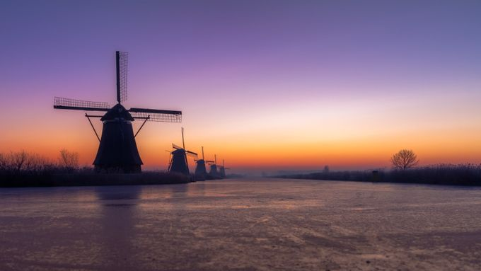 Kinderdijk by marcelsamson - Windmills Photo Contest