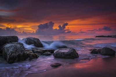 KHAO LAK BEACH -- SUNSET