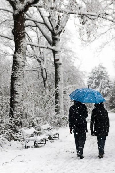 Snow in Utrecht