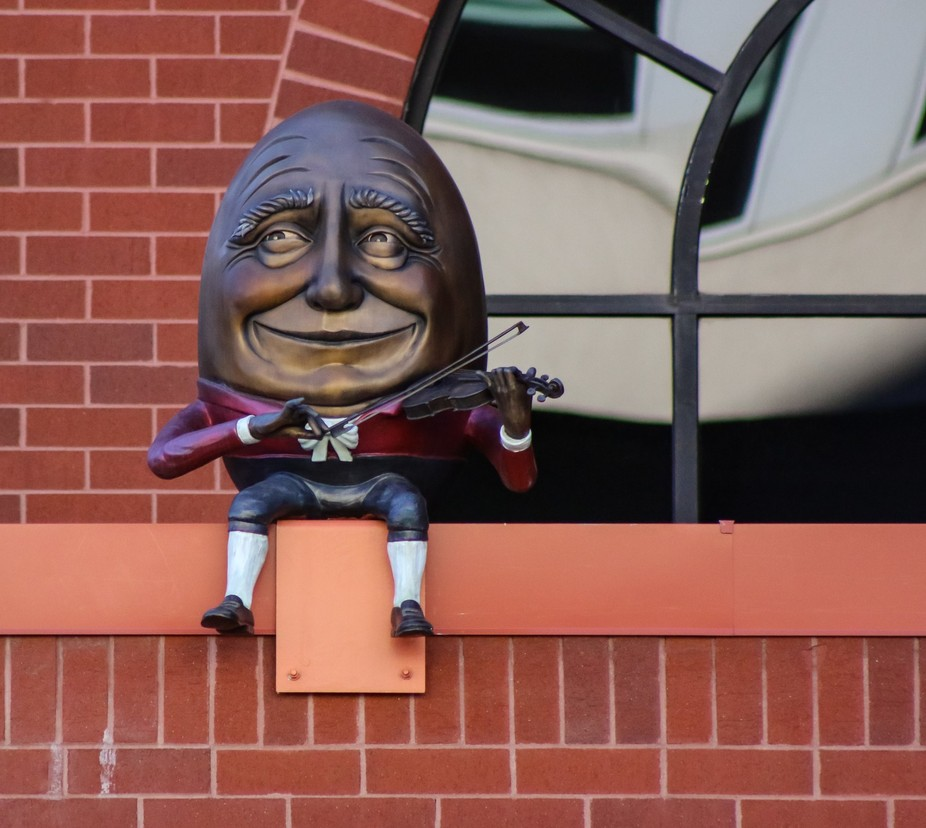 I was visiting downtown Colorado Springs, Colorado, where they have these Humpty Dumpty statues i...