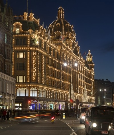 Christmas time at harrods