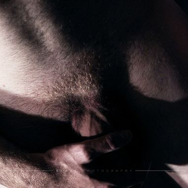 A beautiful male form study