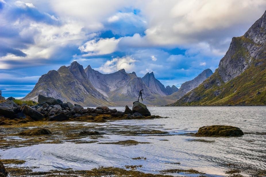 Lofoten islands, near Sorwagen