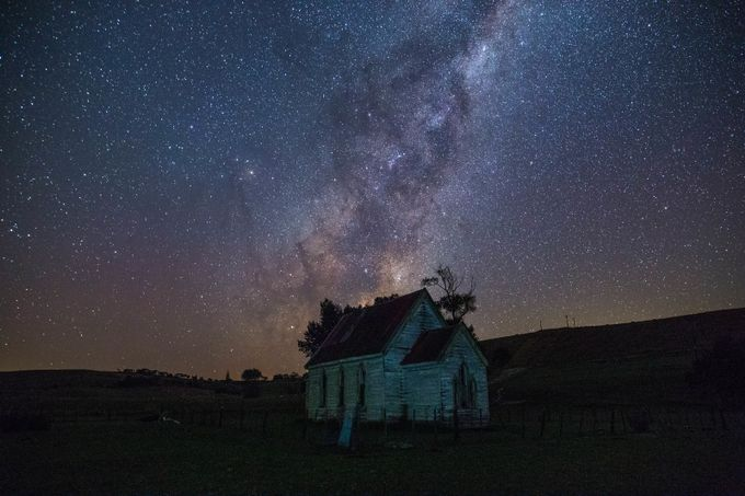 A Haunted Millkyway by gwestnz - Capture The Milky Way Photo Contest