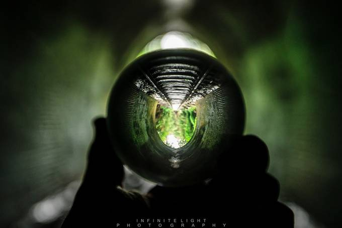 The Dark side by Mars_Infinite_Light - Shooting Tunnels Photo Contest