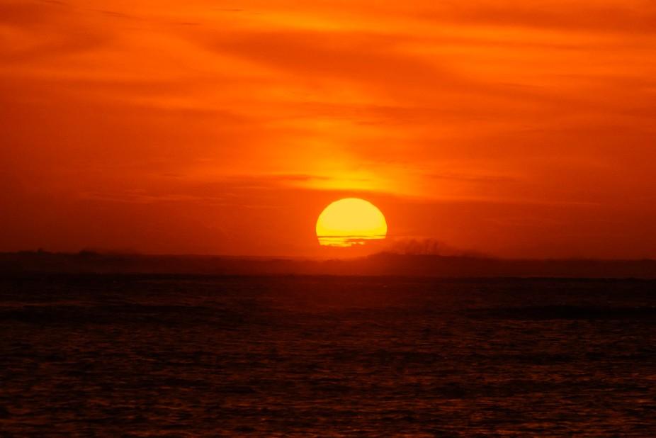 Sunset @ Le Morne 1