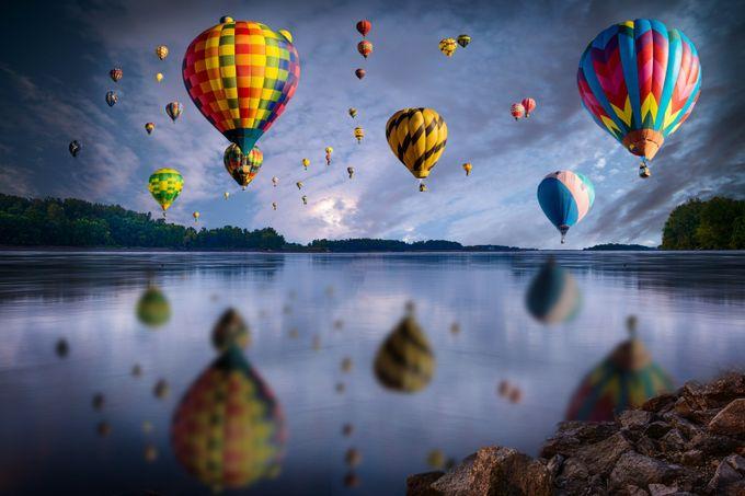 New Mexico ballon festeble by youngpaik - Show Balloons Photo Contest