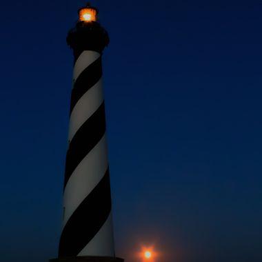 Hatteras Moonrise