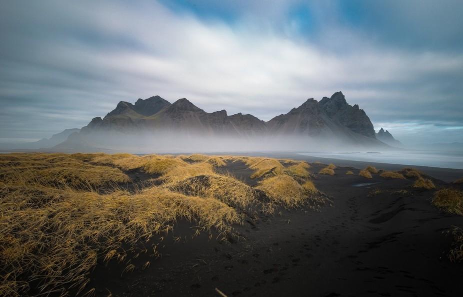 Shot at Stokksnes, Iceland