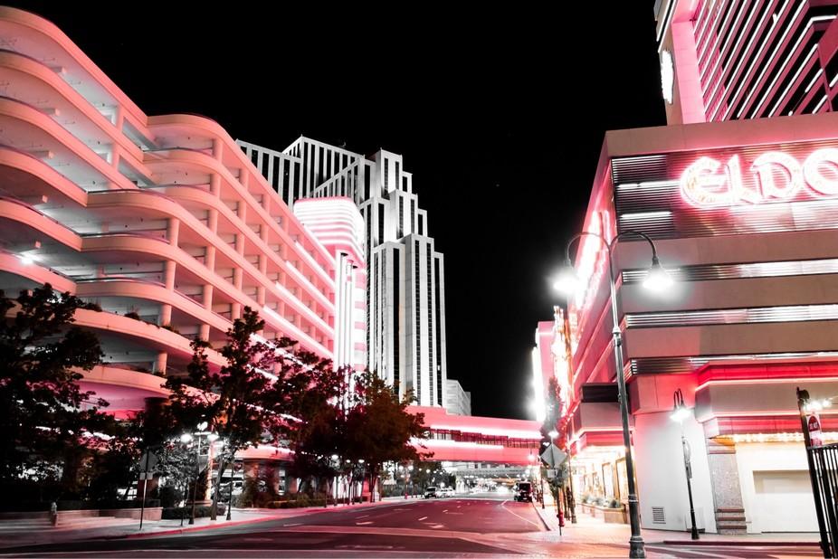 Reno night lights