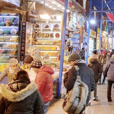 I took this photo when we were in Istanbul, in the year 2015. Mısırlı Pazaar, is a closed Pazaar in Eminönü of Istanbul. This was one of the photos that I took while walking around that day.